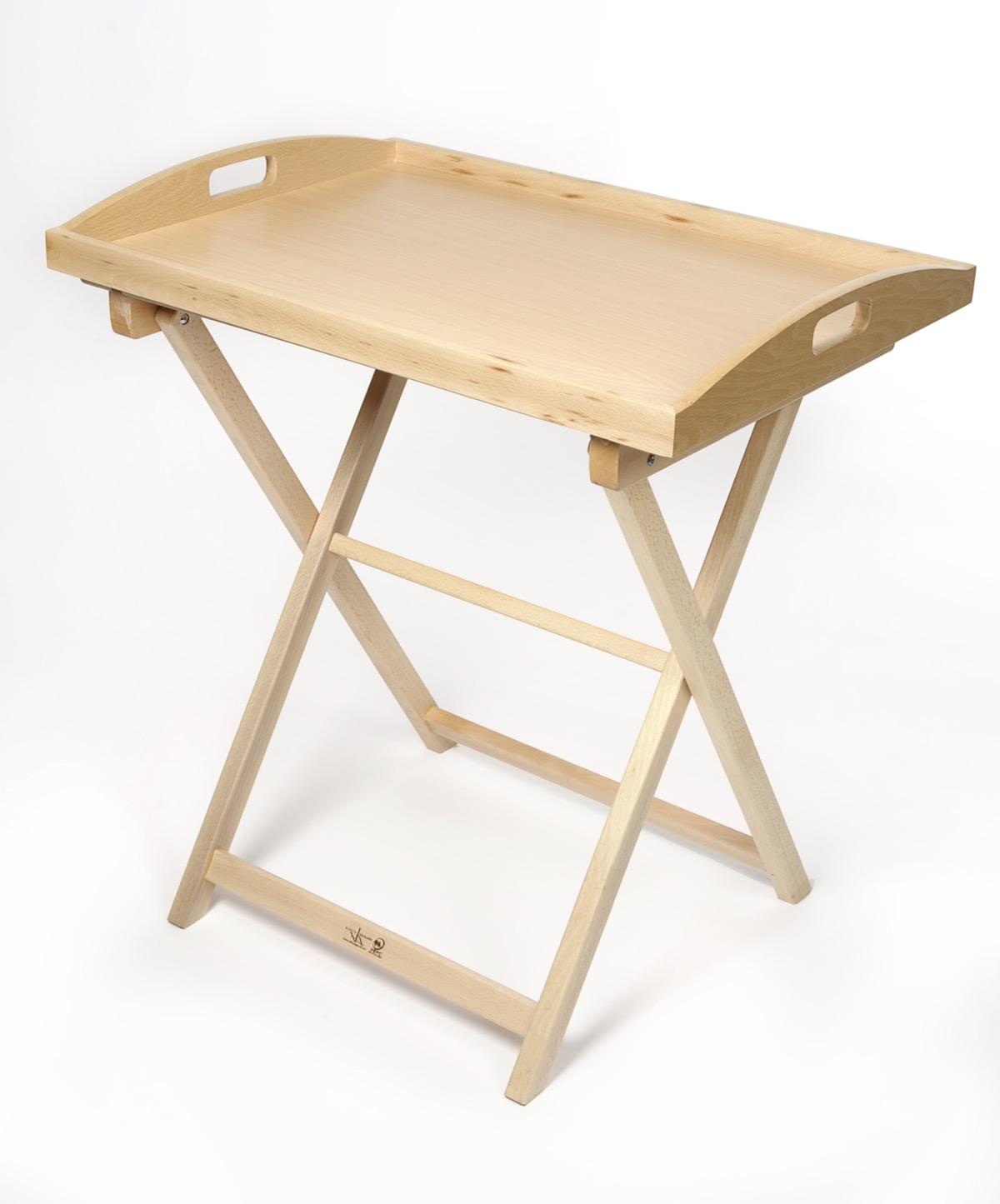 table pliante avec plateau en bois - garcía hnos.