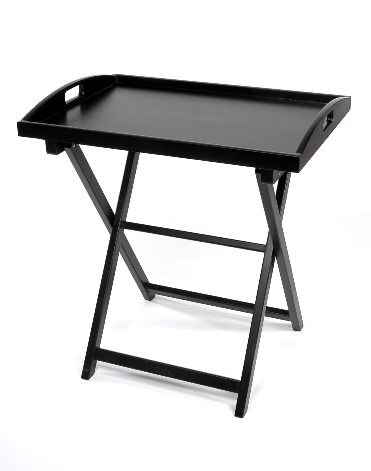table pliante avec plateau en bois garc a hnos. Black Bedroom Furniture Sets. Home Design Ideas