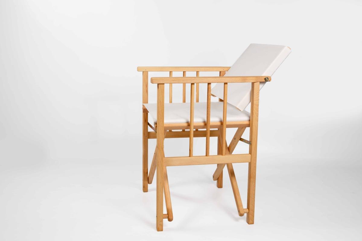 sillón plegable para terraza modelo dinamarca