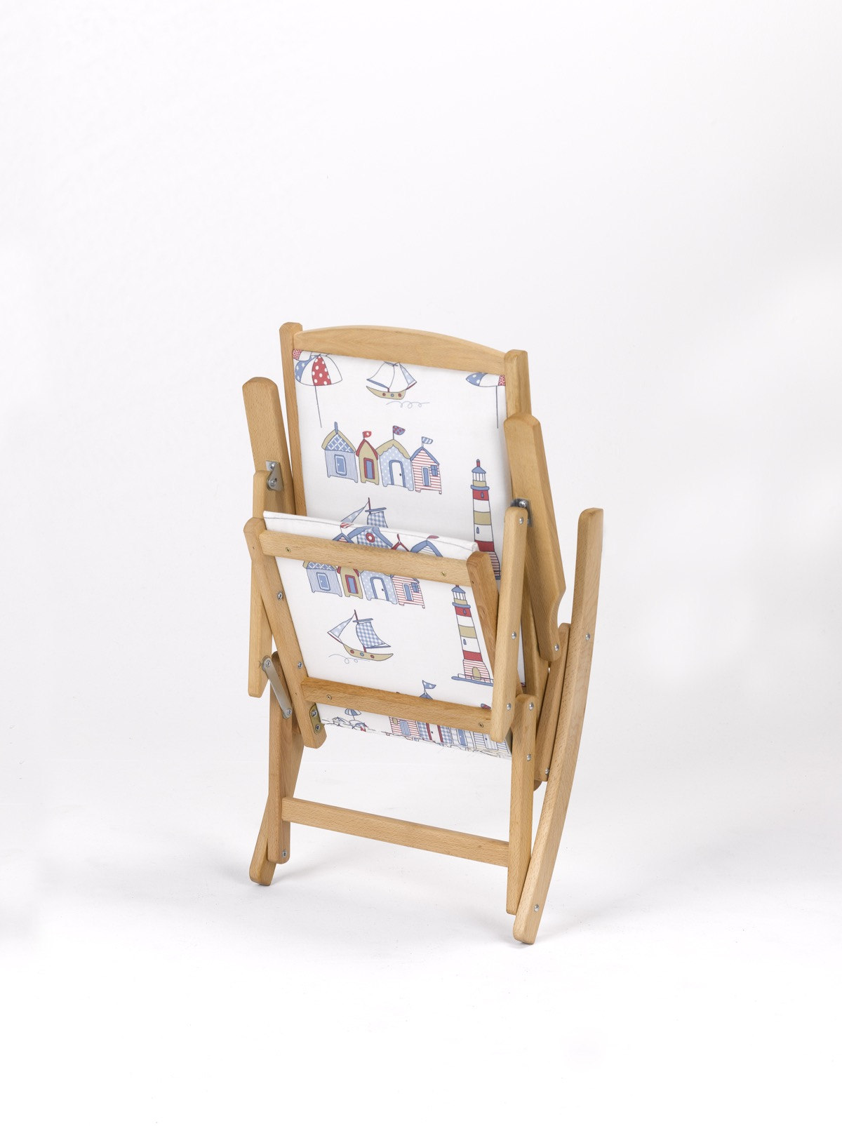 Mecedoras infantiles plegables de madera garc a hermanos - Mecedora plegable ...