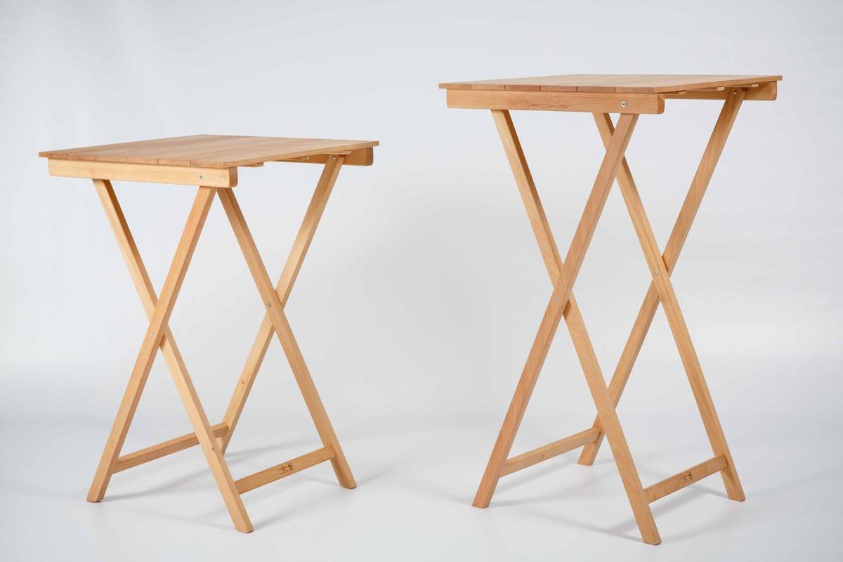 Como hacer una mesa rebatible extender mesa plegable de for Mesa cuadrada