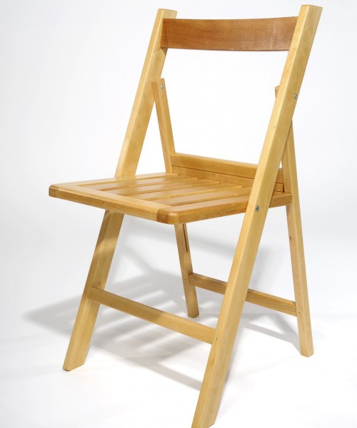 Bilbao chair natural varnished