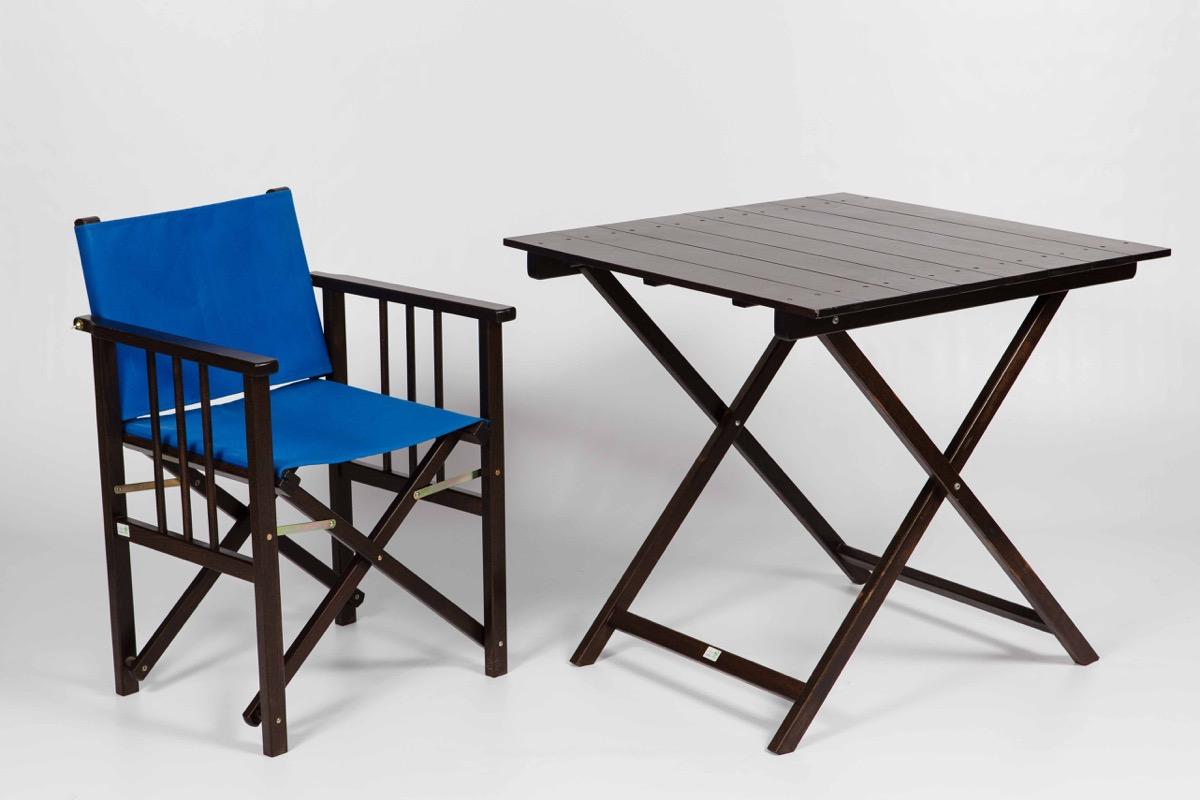 sillón plegable para terraza
