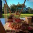 Mesa buffet toldo personalizada