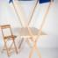 Mesa buffet toldo personalizada con silla alta