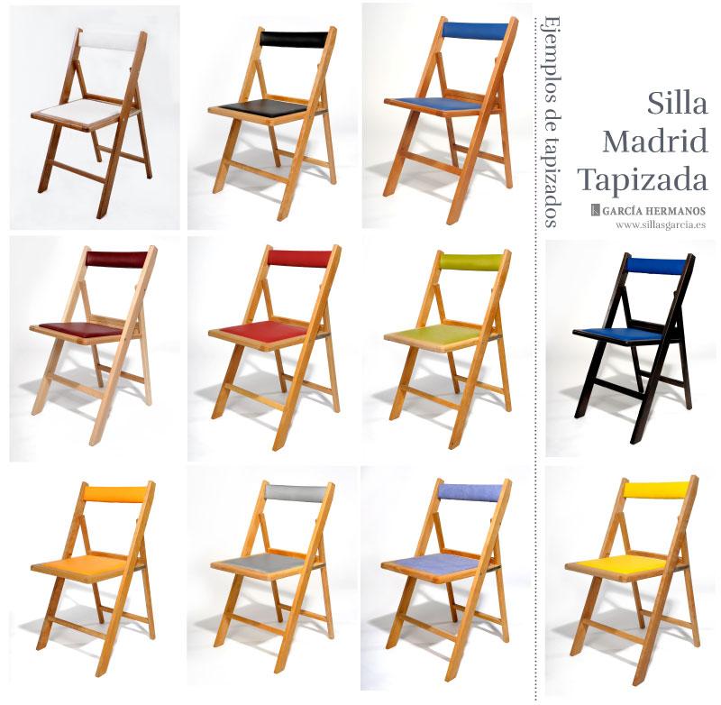 Para Eventos Madrid Tapizada Dwbroxce Y Silla Hostelería Plegable k0O8PnwX