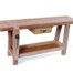 Example of bench with drawer