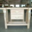 Carpenter bench with 2 drawers
