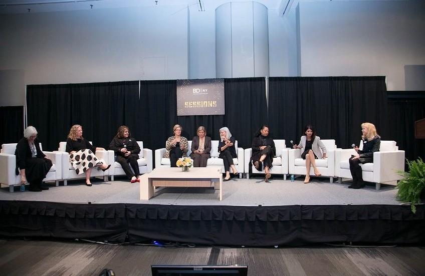 Una sesión en la BDNY con mujeres profesionales.